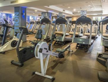 Modern fitness centre